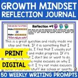 Creating a Growth Mindset: #WordsofWisdom Year-Long Reflec