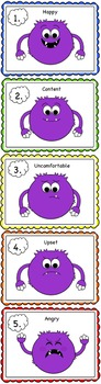 Creating a Happier Classroom Monster Emotion Chart and Strategies