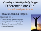 Creating a Healthy Body & Self Image/ Gender Stereotypes