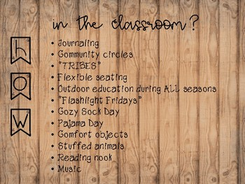 Creating a Hygge Classroom