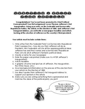 Creating a Jeffersonian Newspaper