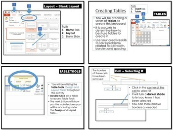 Microsoft Office Create a Keyboard Activity