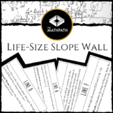 Life Size Slope Wall Activity (Includes slope, grade, & Ca