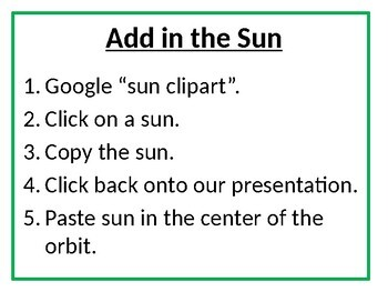Model of the Seasons with Google Slides