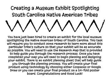 Creating a Museum Exhibit for South Carolina Native American Tribes