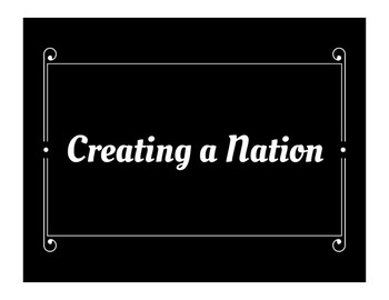 Creating a Nation (Constitution) Word Wall