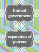 Creating a Nation Word Wall Set (1776-1791)