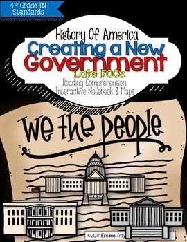 Creating a New Government: Late 1700s {TN 4th Grade Social Studies Standards}