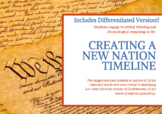 Creating a New Nation Timeline Activity - Differentiated!
