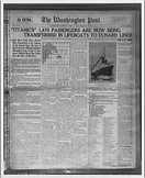 Creating a Newspaper on the 1920's