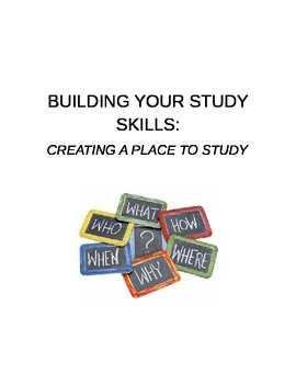Creating a Place to Study
