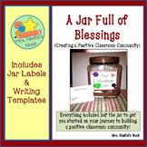 Classroom Community - A Blessings Jar