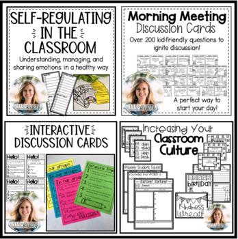 Bundle: Creating a Positive Classroom Culture