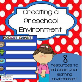 Preschool Beginning of the Year Bundle- Class Decor and Management