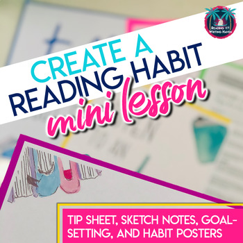 Reading Lesson: Creating a Reading Habit with Tips, Sketch Notes, and Posters