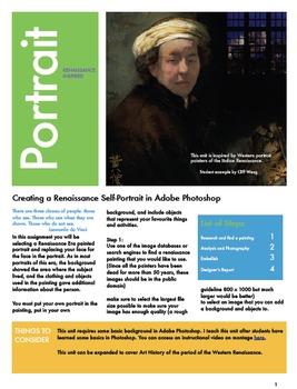 Creating a Renaissance Self-Portrait with Adobe Photoshop