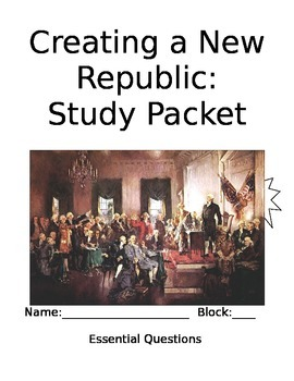 Creating a Republic Unit Packet