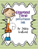 Performance task (Creating a Schedule - Elapsed time)