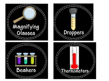Creating a Science Station and Process Posters