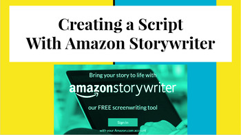 Creating a Script with Amazon Storywriter