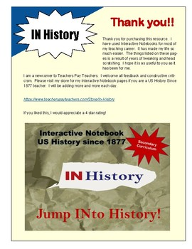 Creating a Secondary Interactive Notebook