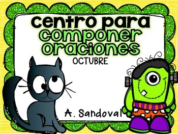 Creating a Sentence with Parts of Speech for OCTOBER in SPANISH