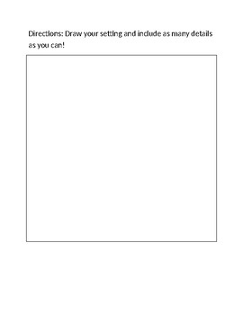 Creating a Setting For Your Story Graphic Organizer