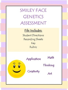 Creating a Smiley Face (Genetic's Assessment)