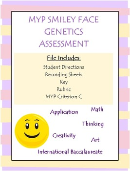 Creating a Smiley Face (Genetic's Assessment with MYP Criterion C)