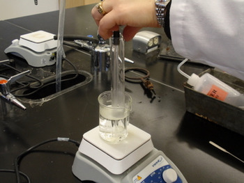 Creating a Solubility Curve for Potassium Nitrate Experiment