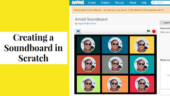 Creating a Sound Board with Scratch