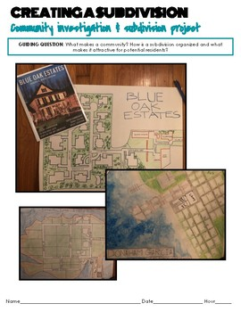Three Week Project: Creating a Subdivision