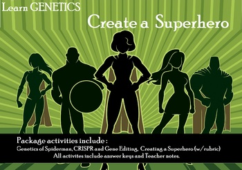 Creating a Superhero : Genetics