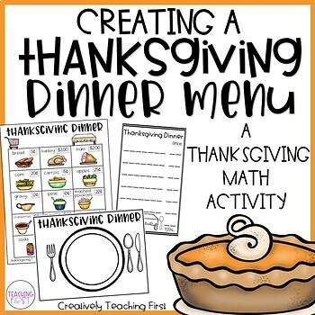 Thanksgiving Dinner (Math Activity)