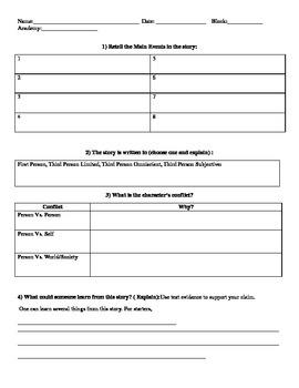 Creating a Theme Worksheet