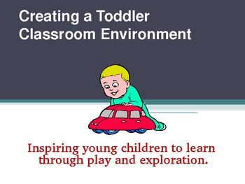 Creating a Toddler Environment