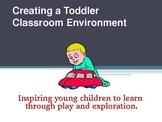 Creating a Toddler Environment