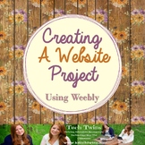 Creating a Website Project - Using Weebly