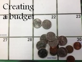 Creating a budget using a narrative (reading)