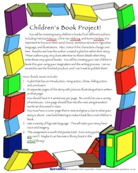 Creating a children's book project