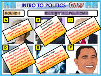 Creating a political Party -