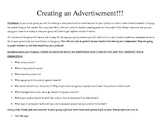 Creating an Advertisement: Rubric