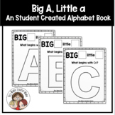 Creating an Alphabet Book: Big A Little A Book
