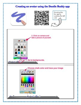 Creating an Avatar for Student Blog Using the Doodle Buddy App for iPad