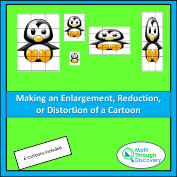 Creating an Enlargement, Reduction or Distortion of a Cartoon
