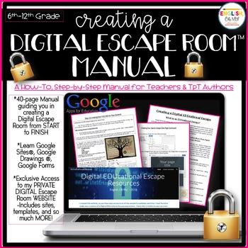 Escape room manual digital google apps by english oh my tpt escape room manual digital google apps maxwellsz