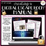 Escape Room Manual, Digital, Google Apps
