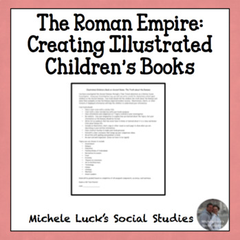 Creating an Illustrated Children's Book on the Roman Empire