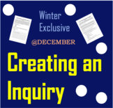 Creating an Inquiry (Advanced Level)