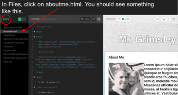 Creating an Online HTML Portfolio Website w/ Mozilla Thimble Step by Step Guide